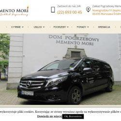 Dom Pogrzebowy Warszawa Memento Mori - Zakład Pogrzebowy Mokotów, Ochota