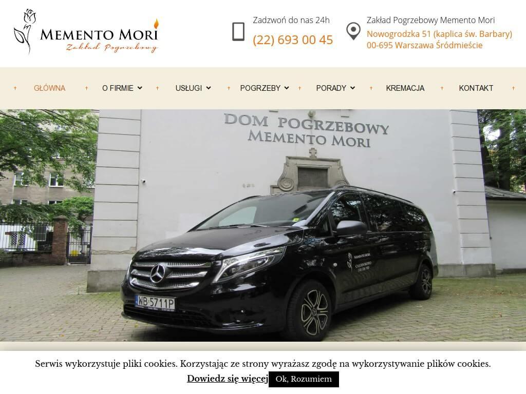 Memento Mori: pogrzeby Warszawa