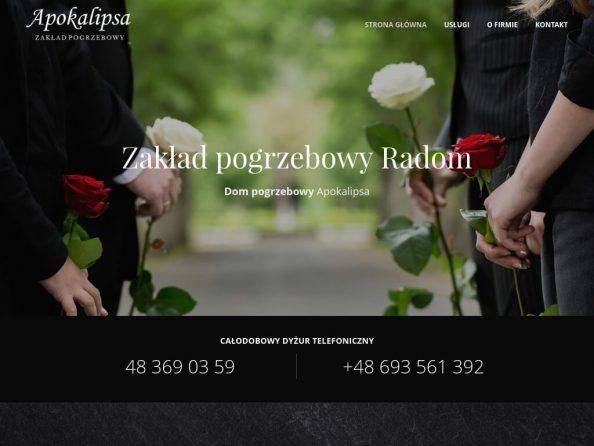 Zakład Pogrzebowy Radom - Usługi pogrzebowe APOKALIPSA