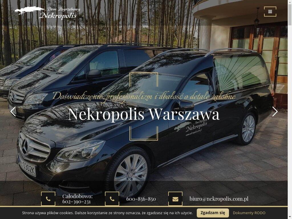 Nekropolis: Zakład pogrzebowy Wola, Żoliborz
