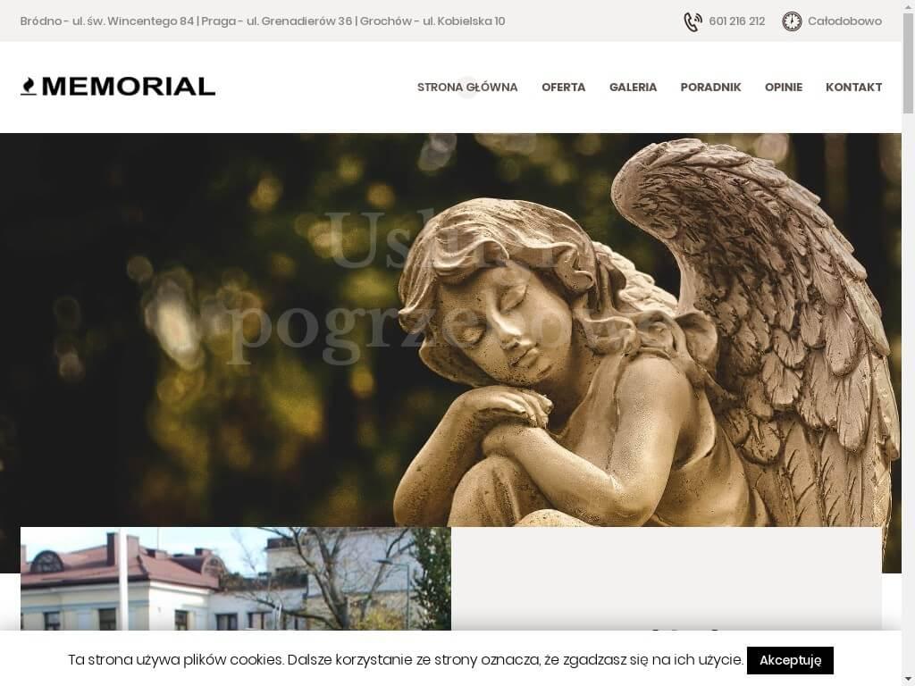 Memorial – usługi pogrzebowe Rembertów, Targówek, Praga, Gocław